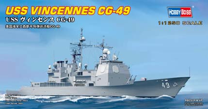 Hobby Boss 1/1250 USS Vincennes CG-49