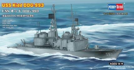 Hobby Boss 1/1250 USS Kidd DDG-993