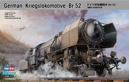 Hobby Boss German Kriegslokomotive Br 52