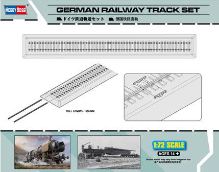 Hobby Boss 1/72 German Railway Track set