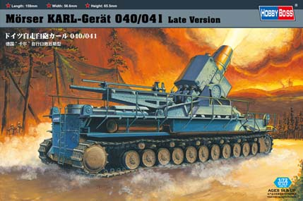 Hobby Boss Morser KARL-Gerat 040/041 Late version