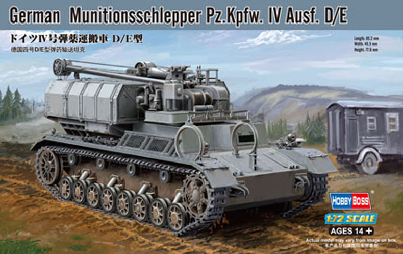 Hobby Boss German Munitionsschlepper Pz.Kpfw. IV Ausf. D/E