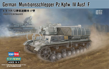 Hobby Boss German Munitionsschlepper Pz.Kpfw. IV Ausf. F