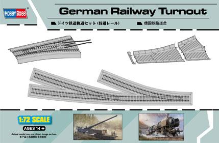 Hobby Boss 1/72 German Railway Turnout