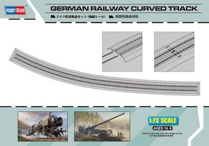 Hobby Boss 1/72 German Railway Curved Track