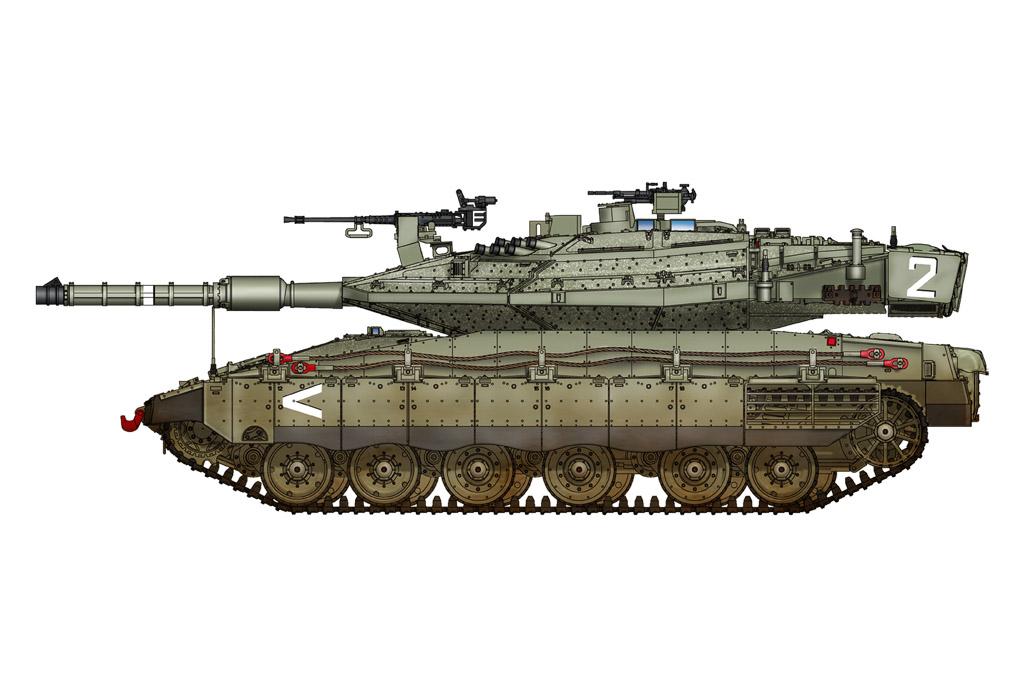 Hobby Boss 1/72 IDF Merkava Mk IV