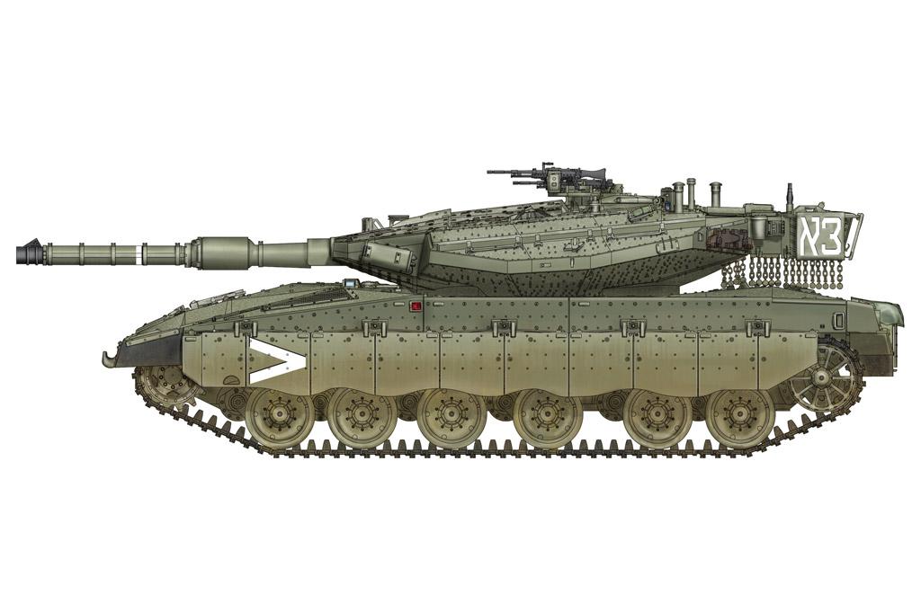 Hobby Boss 1/72 IDF Merkava Mk.IIID