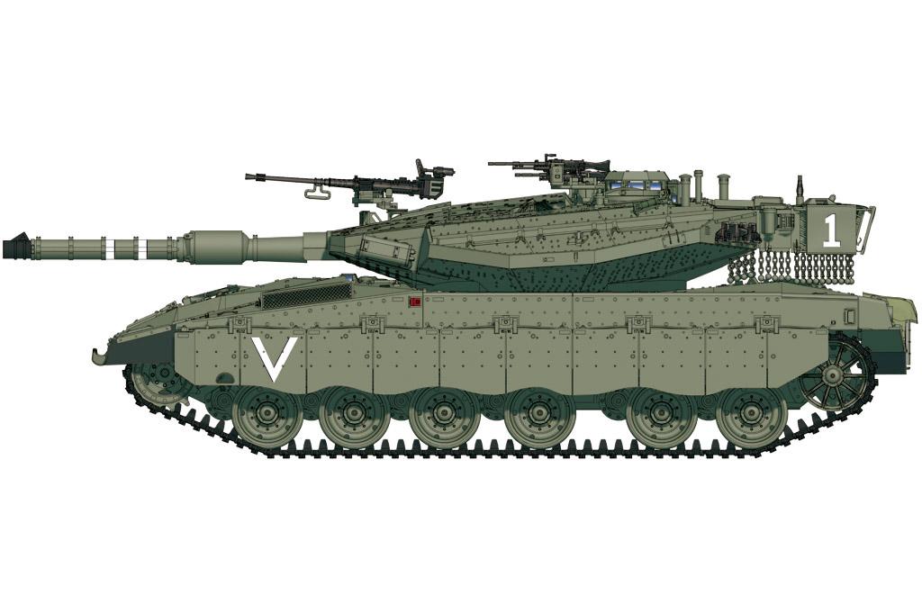 Hobby Boss 1/72 IDF Merkava Mk.IIID(LIC)
