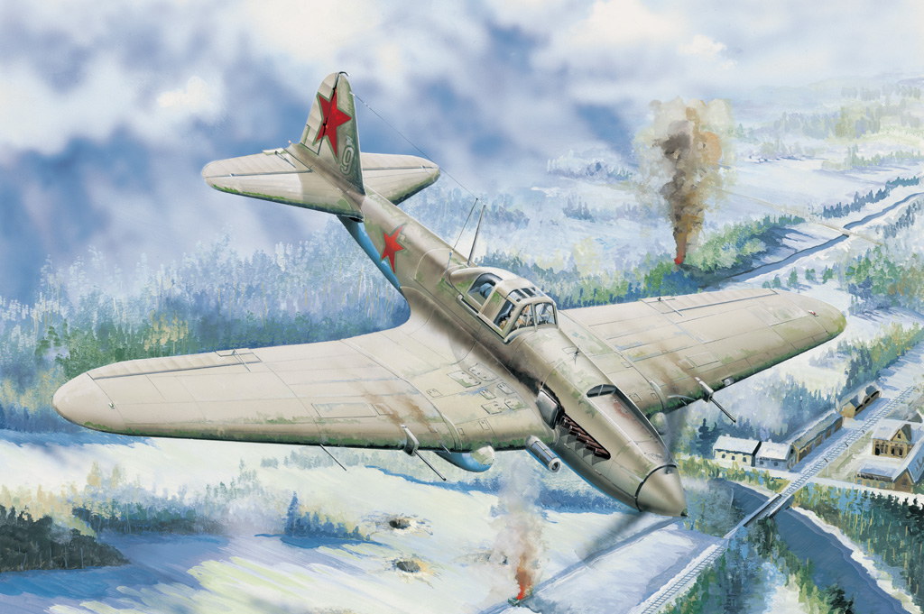Hobby Boss IL-2 Ground attack aircraft