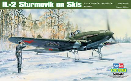 Hobby Boss 1/32 IL-2 Sturmovik on Skis