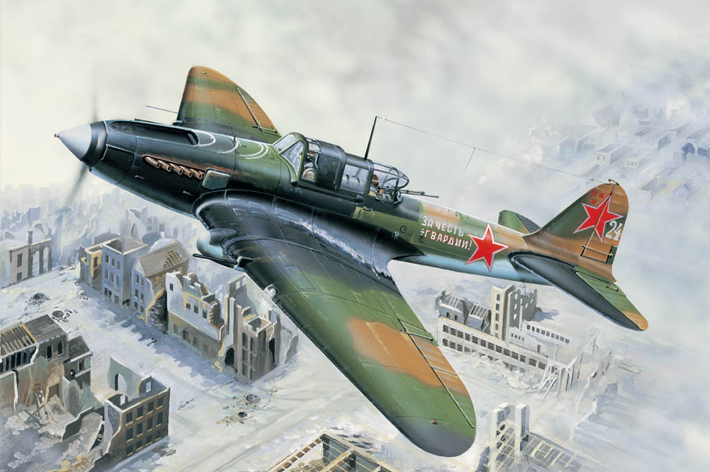 Hobby Boss 1/32 IL-2M Ground attack aircraft