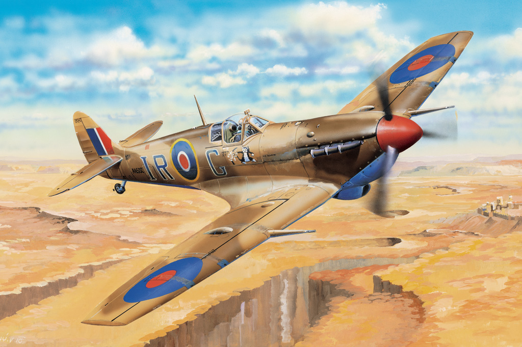 Hobby Boss 1/32 Spitfire MK.VB Trop