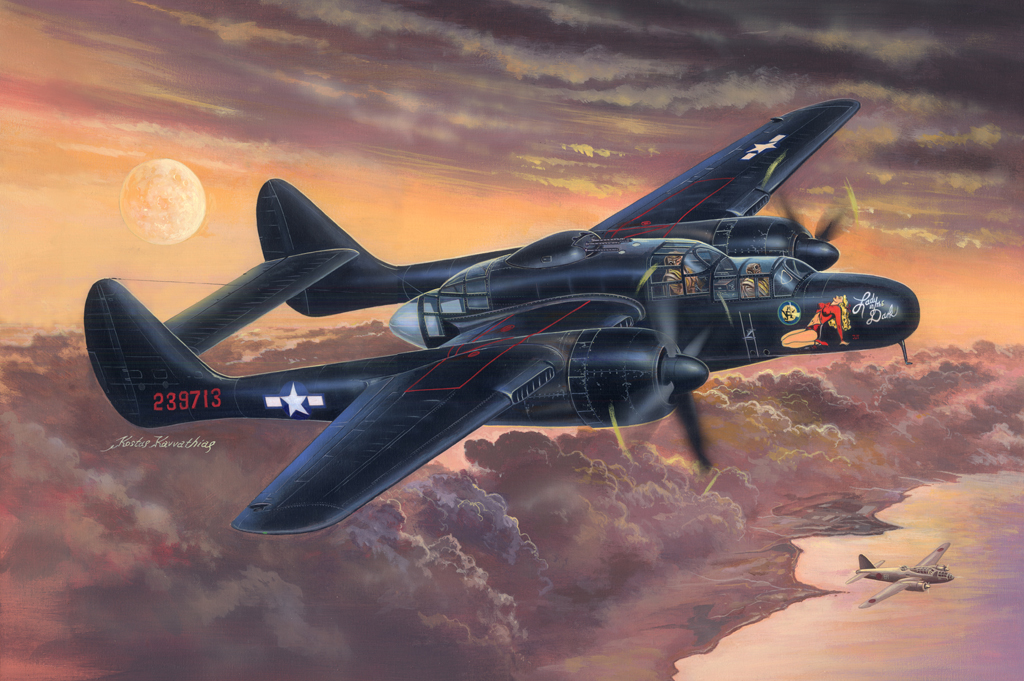 Hobby Boss P-61B Black Widow