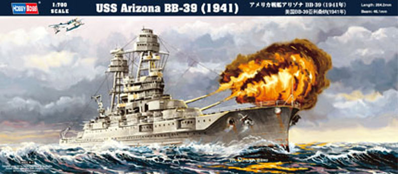 Hobby Boss USS Arizona BB-39 (1941)