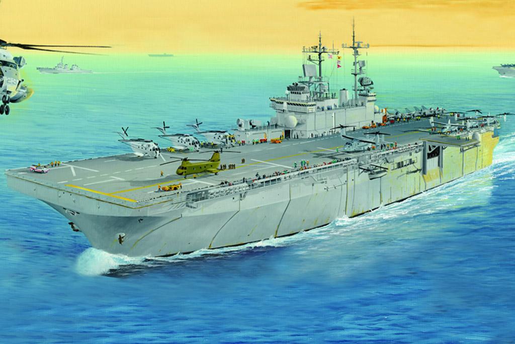 Hobby Boss 1/700 USS Wasp LHD-1