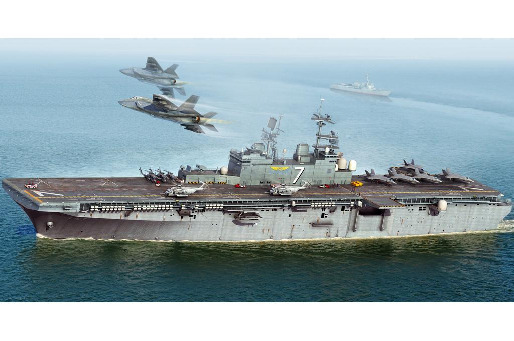 Hobby Boss Iwo Jima LHD-7