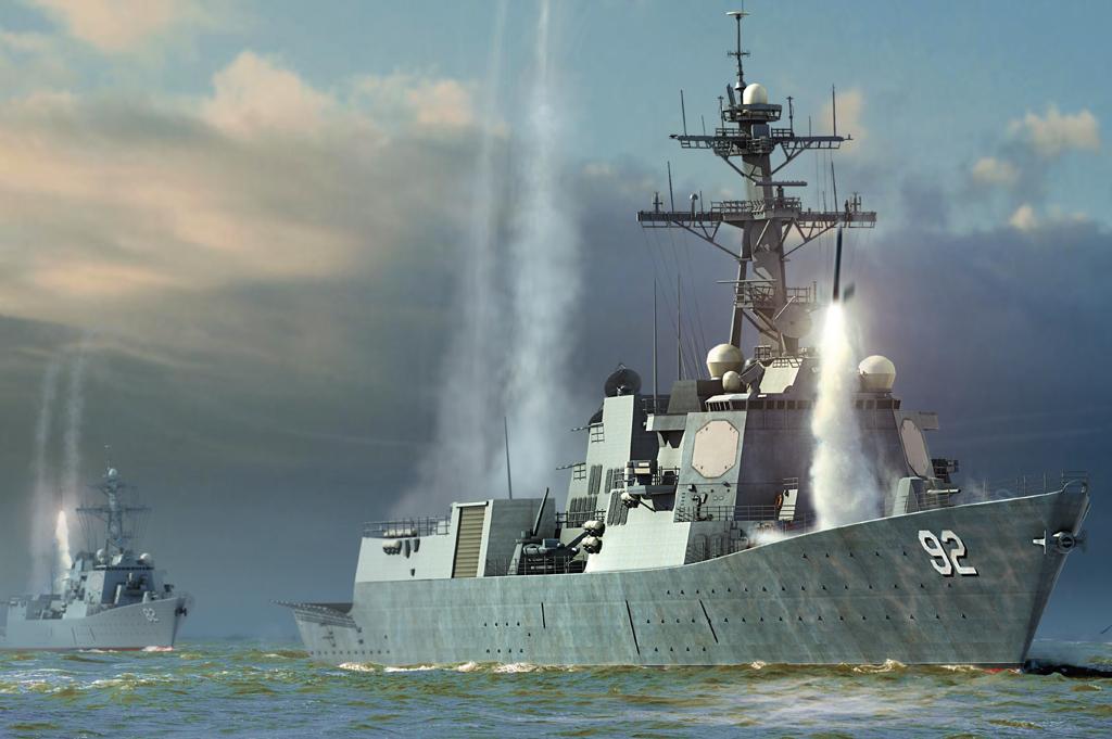 Hobby Boss 1/700 USS Momsen DDG-92
