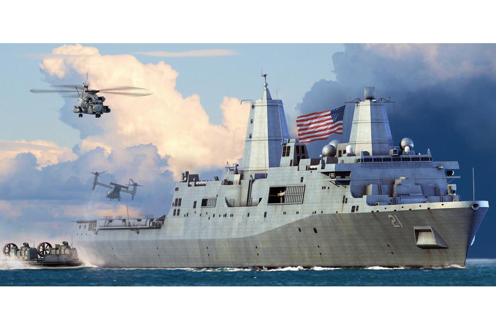 Hobby Boss 1/700 USS New York LPD-21