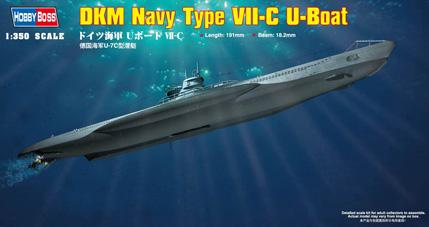 Hobby Boss DKM Navy Type VII-C U-Boat