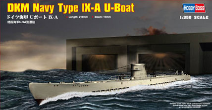 Hobby Boss 1/350 DKM Type lX-A U-Boat