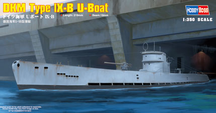 Hobby Boss DKM Type lX-B U-Boat