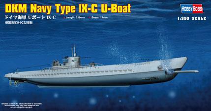 Hobby Boss 1/350 DKM Type lX-C U-Boat