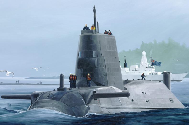 Hobby Boss 1/350 HMS Astute