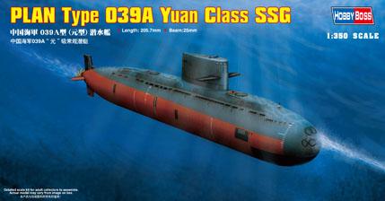 Hobby Boss 1/350 PLAN Type 039A Yuan Class SSG