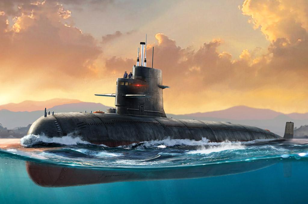 Hobby Boss 1/350 PLA Navy Type 039 Song Class