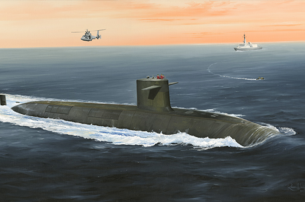 Hobby Boss 1/350 French Navy Le Triomphant SSBN