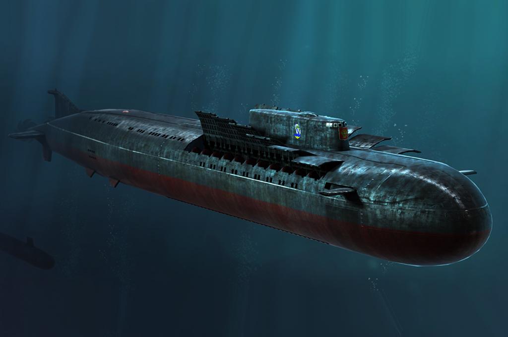 Hobby Boss Russian Navy SSGN Oscar II Class Kursk Cruise Missile Submarine