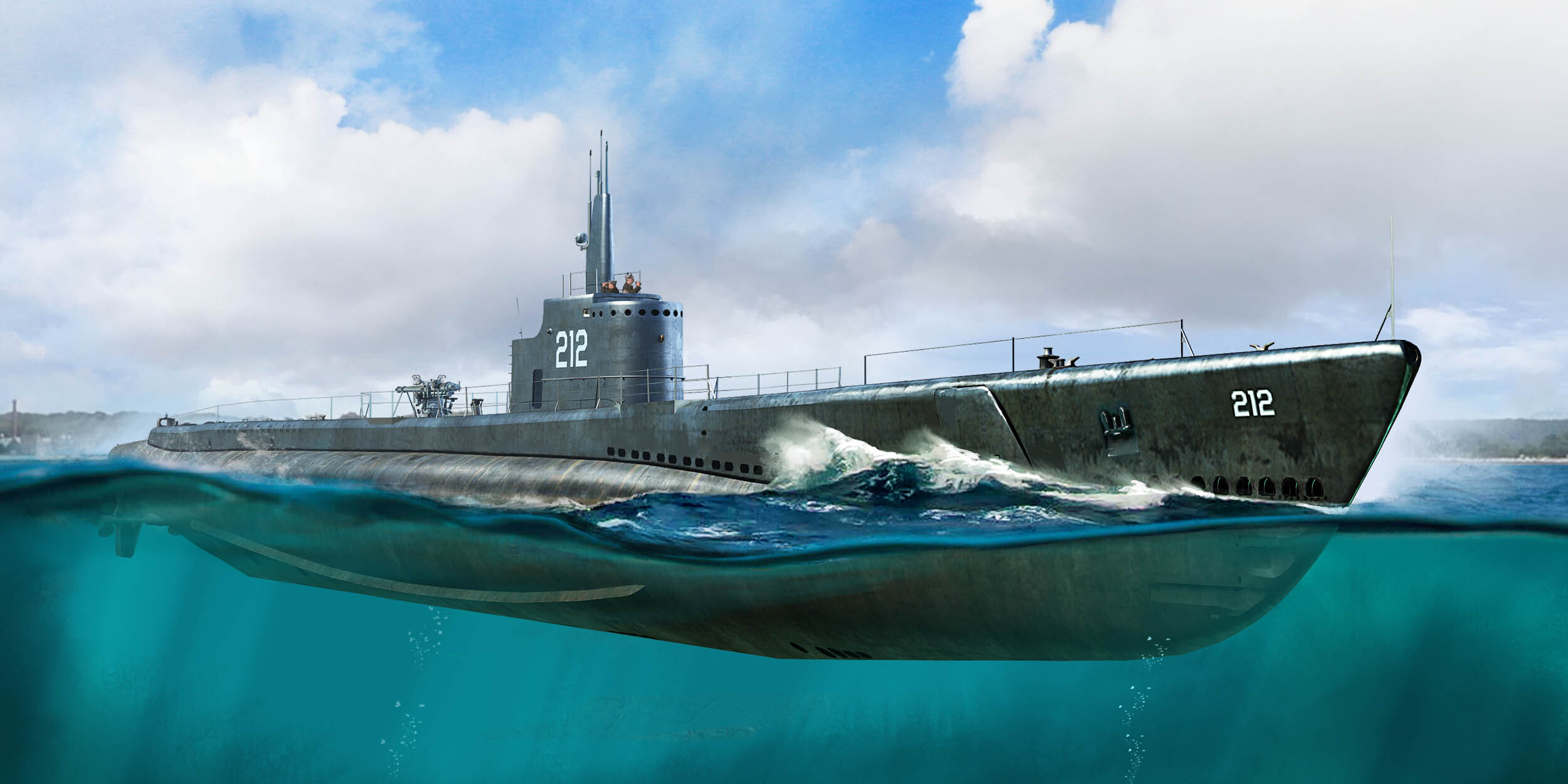 Hobby Boss 1/350 USS GATO SS-212 1941