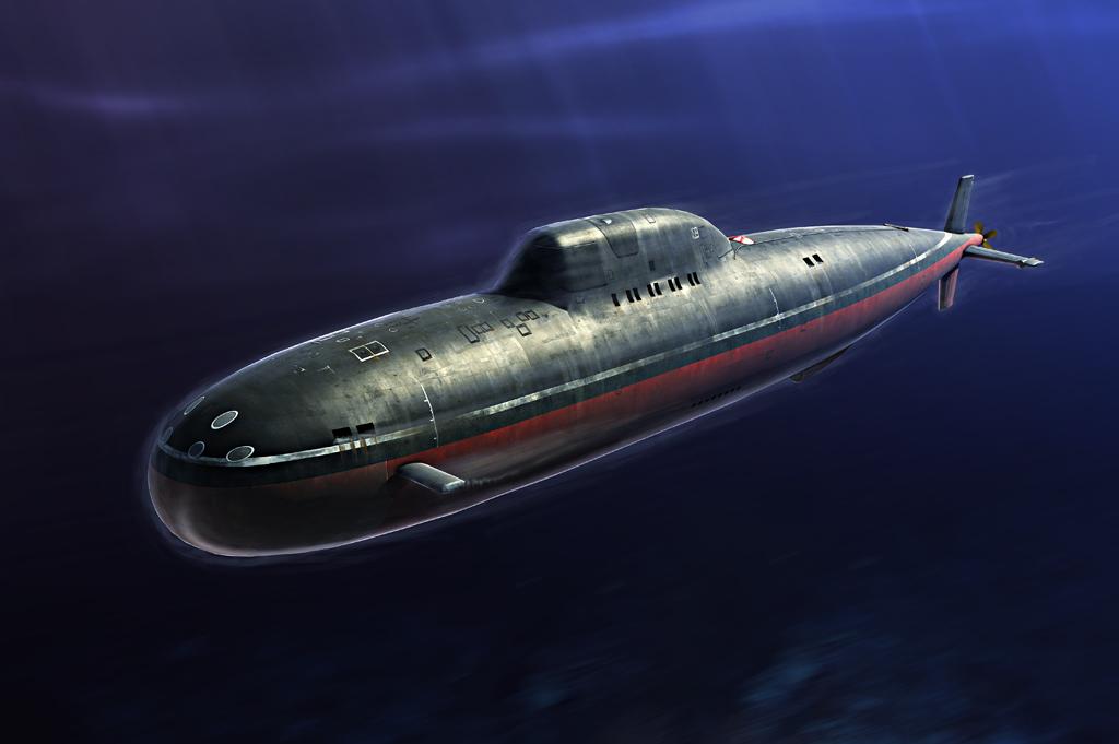 Hobby Boss 1/350 Russian Navy Alfa Class SSN