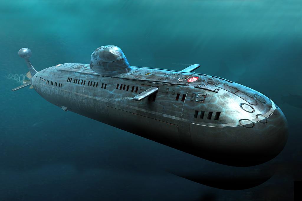 Hobby Boss Soviet Navy Victor III Class (Project 671RTMK) SSN