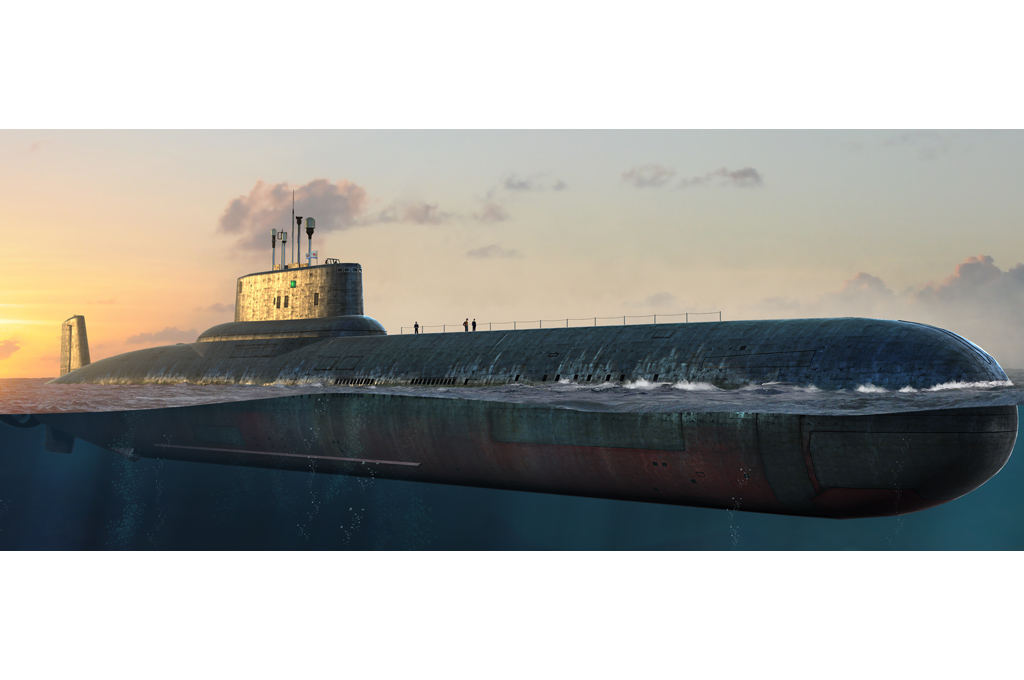 Hobby Boss Russian Navy Typhoon Class SSBN