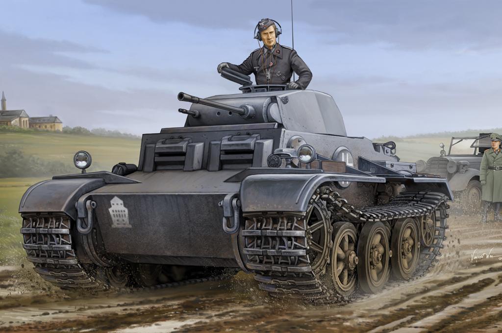 Hobby Boss 1/35 German PzKpfw.II Ausf.J (VK1601)