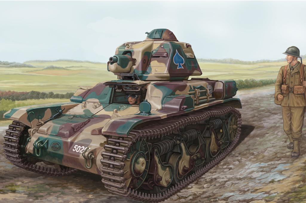 Hobby Boss 1/35 French R35 Light Infantry Tank