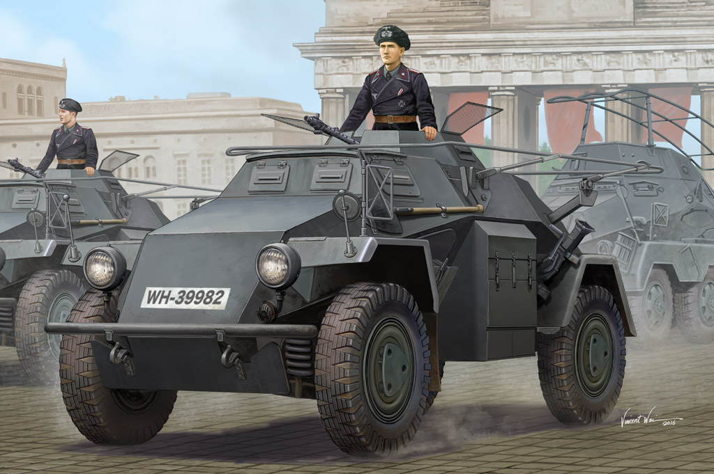 Hobby Boss 1/35 German Sd.Kfz.223 Leichter Panzerspahwagen (1st Series)