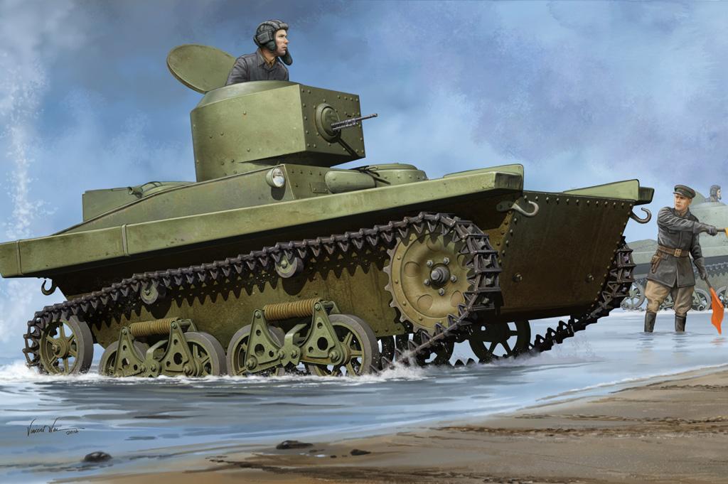 Hobby Boss 1/35 Soviet T-37A Light Tank (Podolsk)
