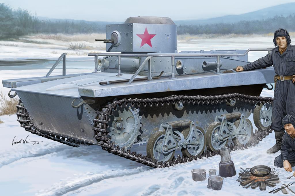 Hobby Boss 1/35 Soviet T-37TU Command Tank
