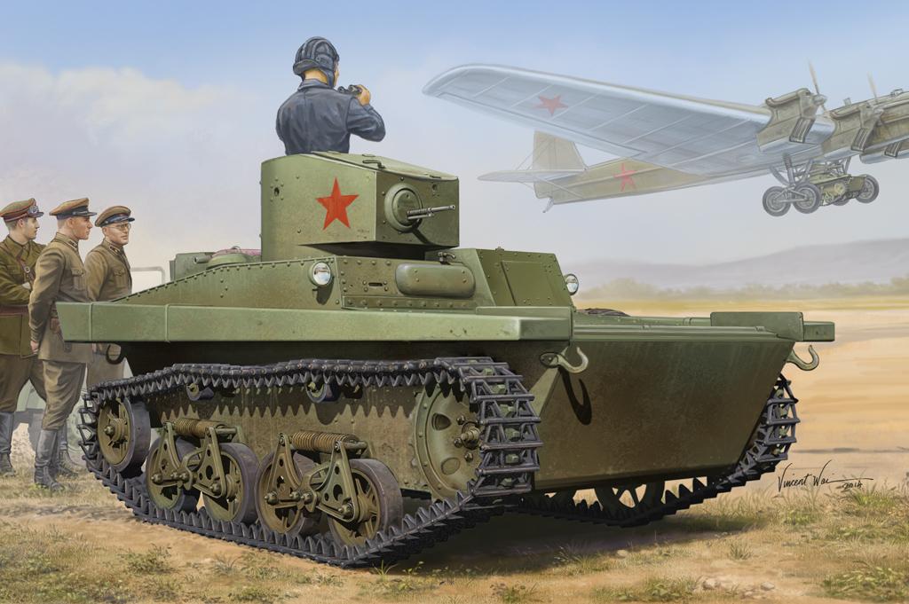 Hobby Boss 1/35 Soviet T-37A  Light Tank(Izhorsky)