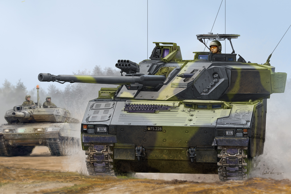Hobby Boss 1/35 Swedish CV9035 IFV