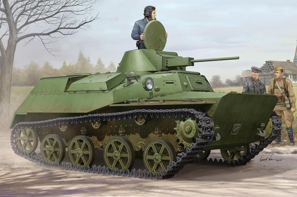 Hobby Boss 1/35 Russian T-30S Light Tank