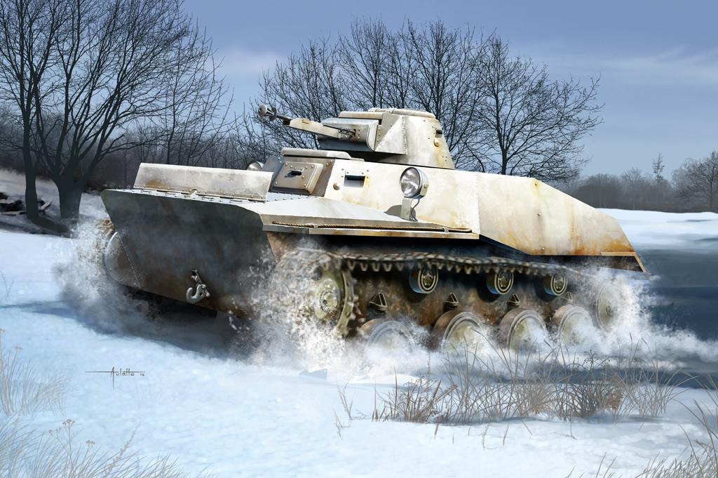 Hobby Boss 1/35 Russian T-40 Light Tank