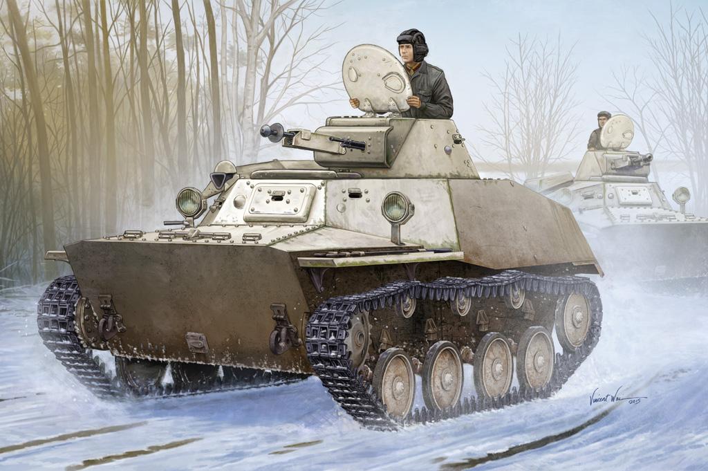Hobby Boss 1/35 Russian T-40S Light Tank