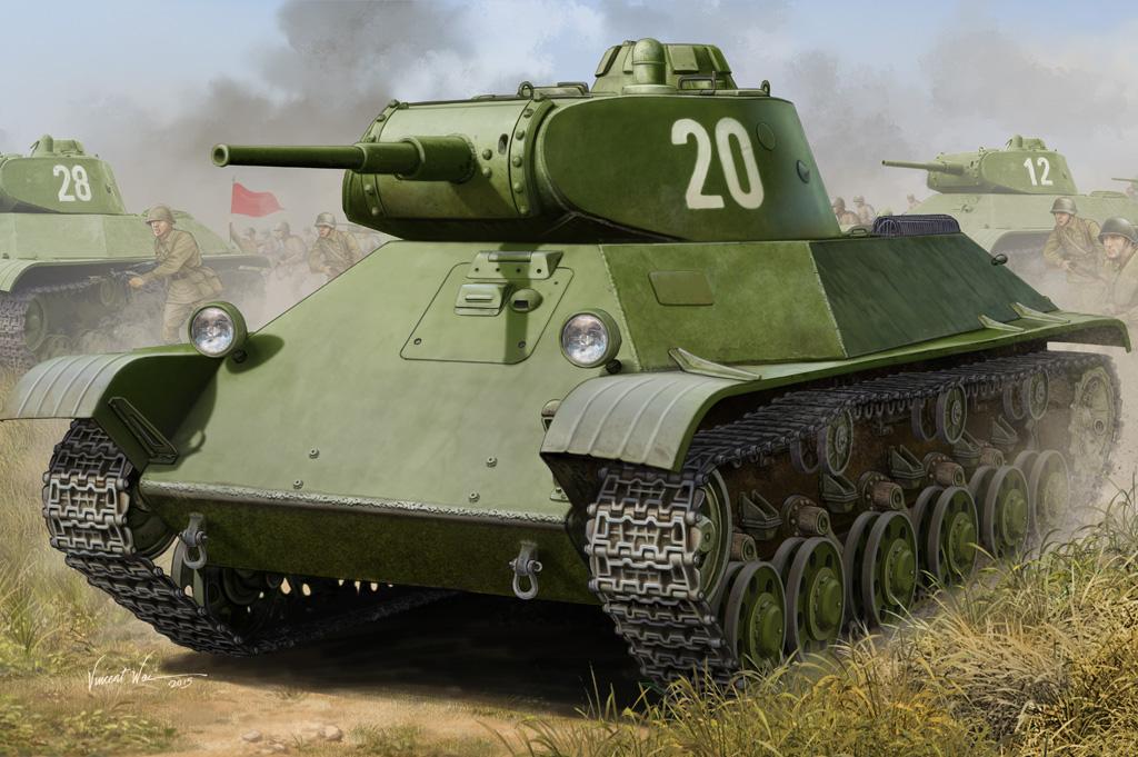 Hobby Boss 1/35 Russian T-50 Infantry Tank