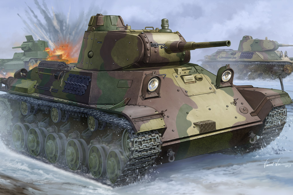 Hobby Boss 1/35 Finnish T-50 Tank