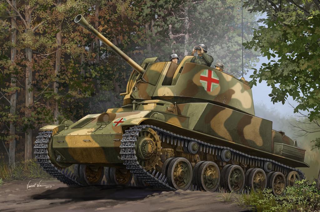 Hobby Boss 1/35 Hungarian 40M Nimrod Anti-Aircraft Gun