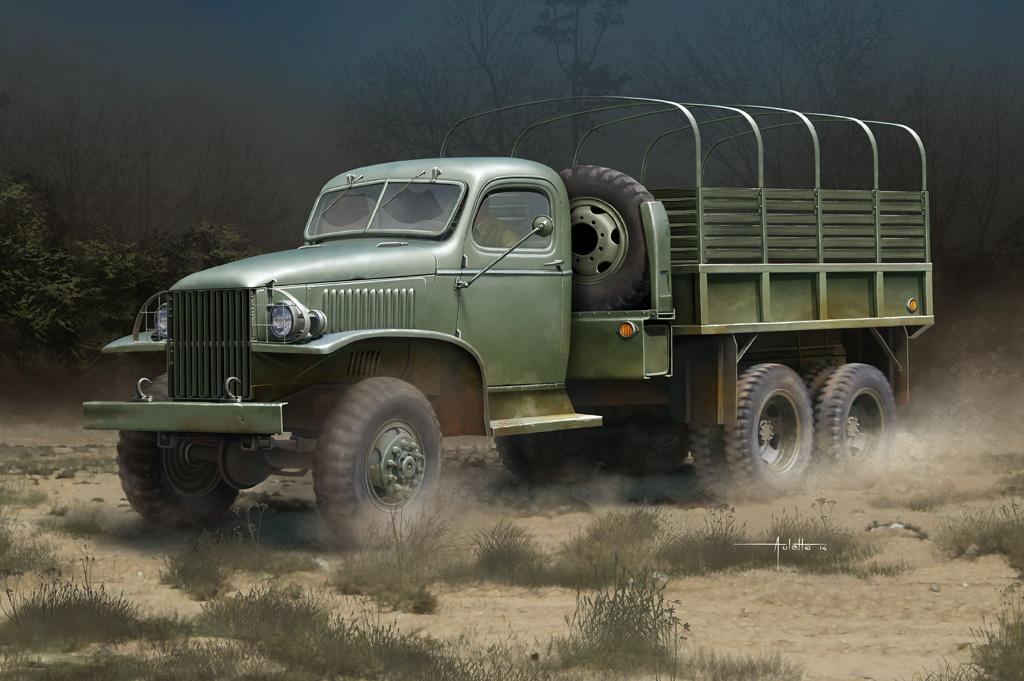 Hobby Boss 1/35 CCKW-352 Steel Cargo Truck