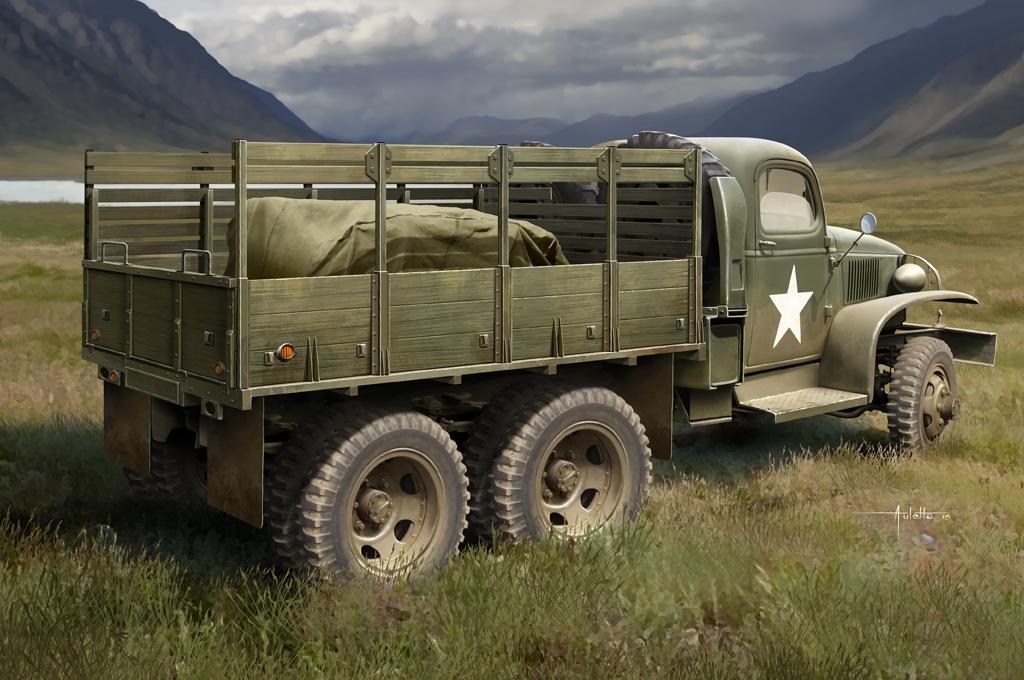 Hobby Boss 1/35 CCKW-352 Wood Cargo Truck